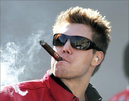 Papelbon-cigar