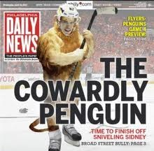 Puck Heads: Flyers exposing the Pens/Great Pics of Crosby