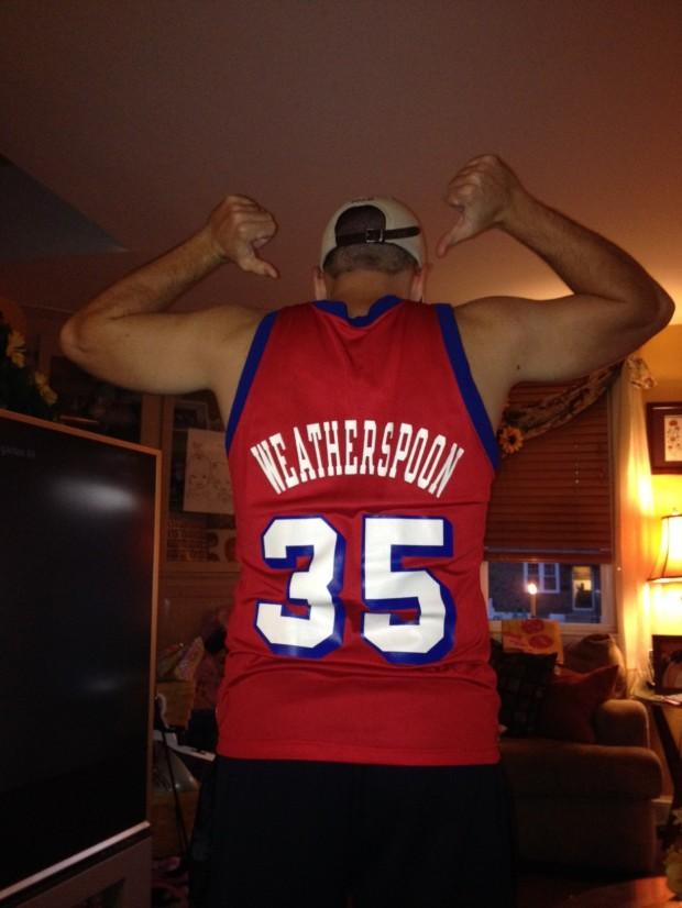 Clarence Weatherspoon Philadelphia Sixers